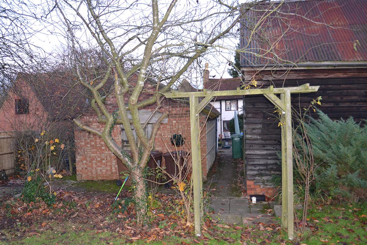 Hollybush Cottage - Rear - Before