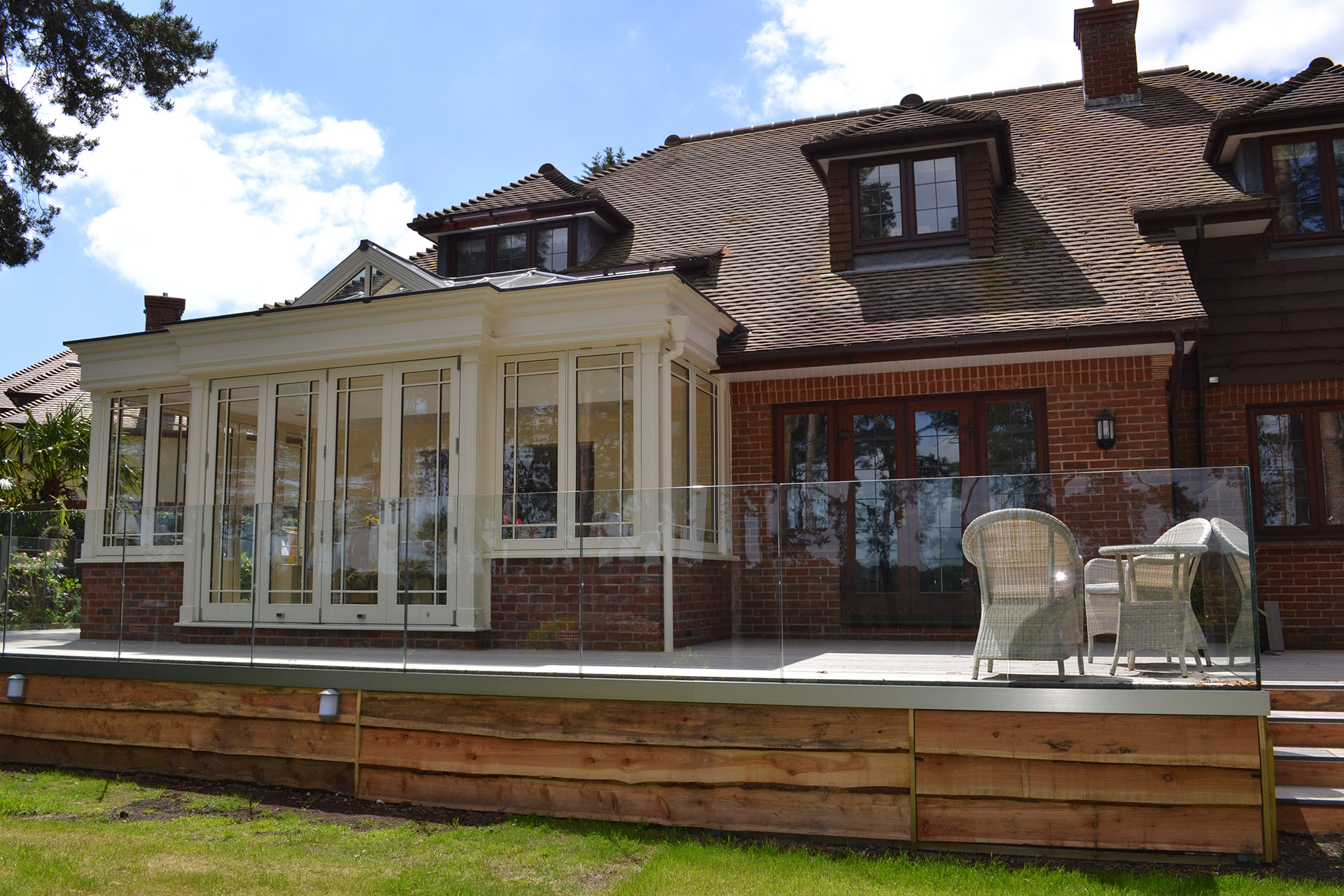 Traditional Orangery - After