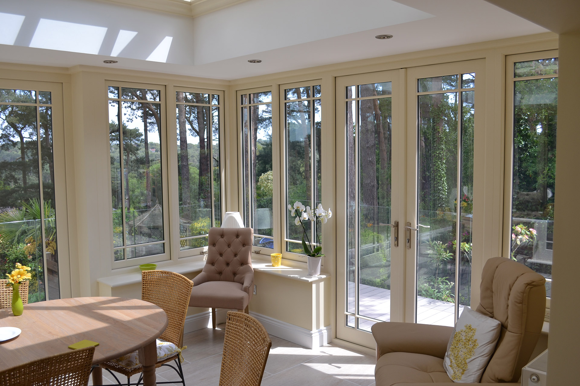 Traditional Orangery - After - Internal