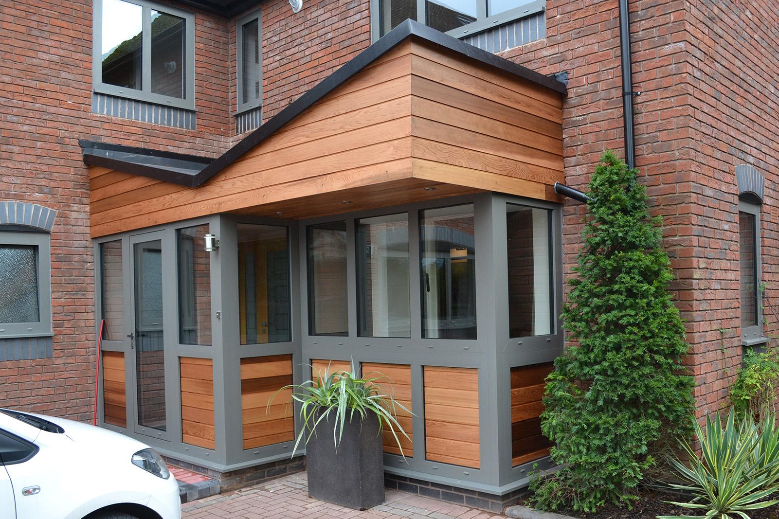 Warwickshire - Porch - After