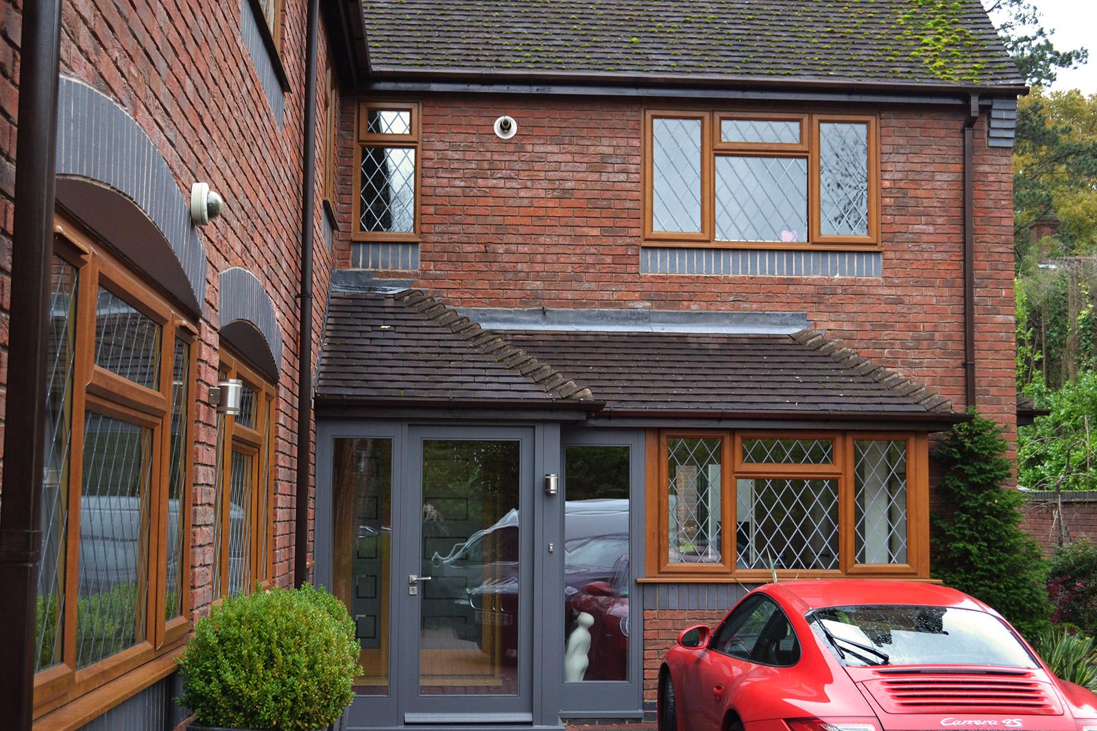 Warwickshire - Before - Porch